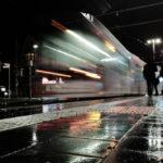 Strassenbahn in Bewegung