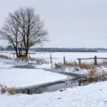 Bremen im Schneewinter