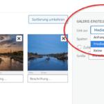 Webseite: Neue Lightbox installiert – Galerie jetzt anders einstellen