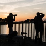 Sundown in Überseestadt